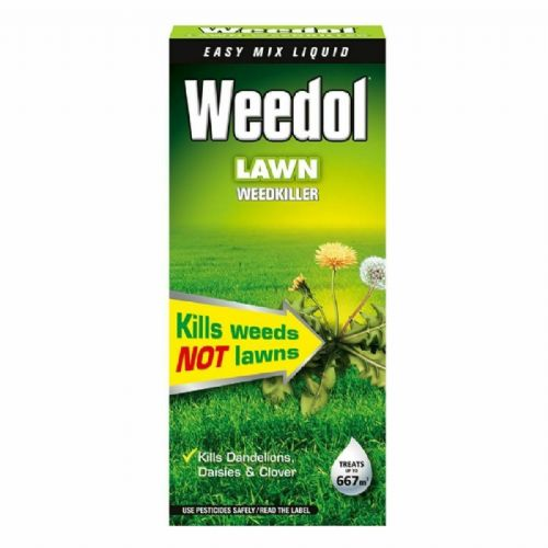 Weedol Lawn Weedkiller 1 litretreats  up to 667sqm